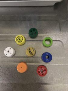 ペットボトル水鉄砲のアタッチメント